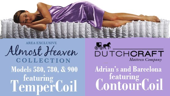 Delano's premium mattresses featuring pocketed coil systems