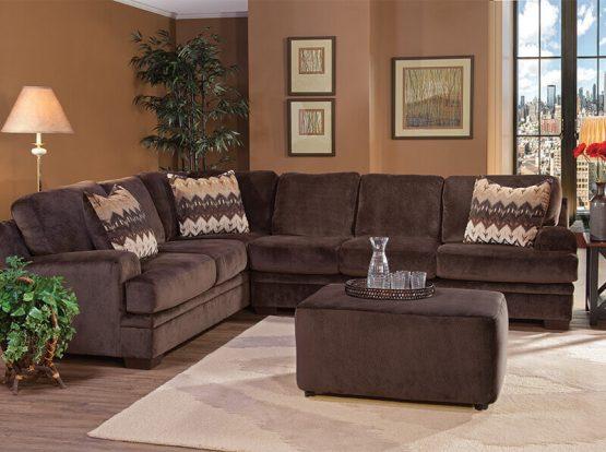 Serta 8800 Sectional Sofa Delano S Furniture And