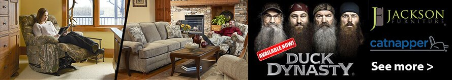 Purchase Duck Dynasty furniture in West Virginia at Delano's Furniture and Mattress