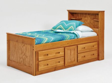 BK1350R-wooden-kids-storage-bed-twin-open