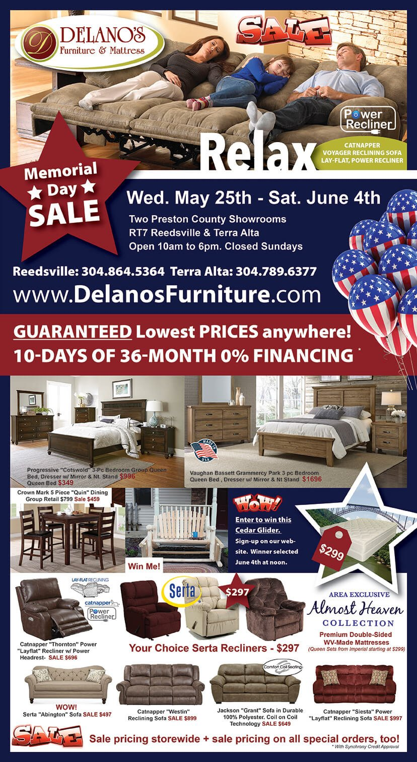 Memorial Day Furniture Sale