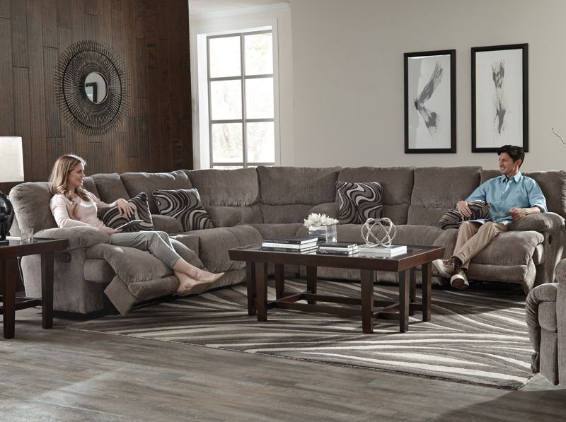 Catnapper Jules Reclining Sectional Delano S Furniture And Mattress West Virginia