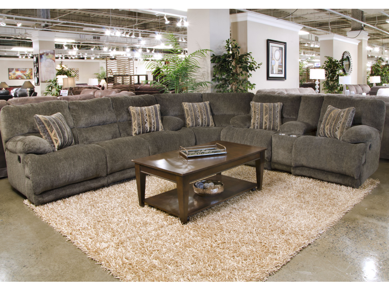 Catnapper Jules Reclining Sectional Delano S Furniture